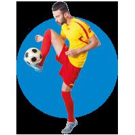 abbigliamento e completini da calcio