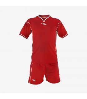 KIT DRIBBLING - completo calcio Misura-L Colore-Rosso