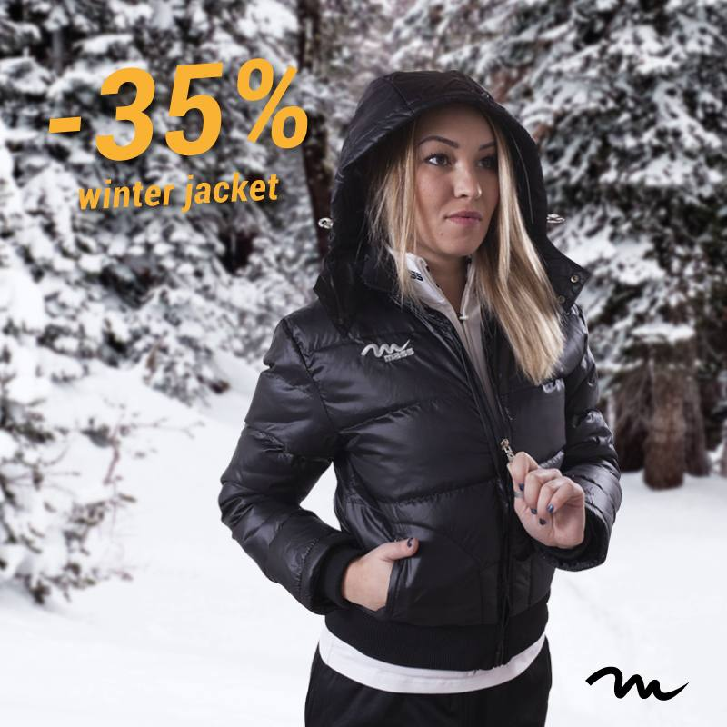 SCONTO GIUBBINI 35%